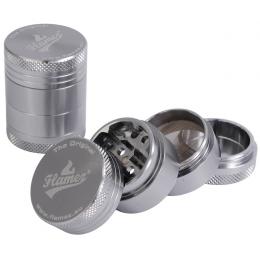 Flamez grinder 40mm 4parti grigio