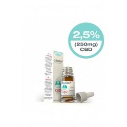 Olio di CBD LEGGERO 10ml 2.5% CBD (250mg)