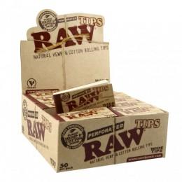 BOX FILTRI RAW CANAPA/COTONE 50PZ