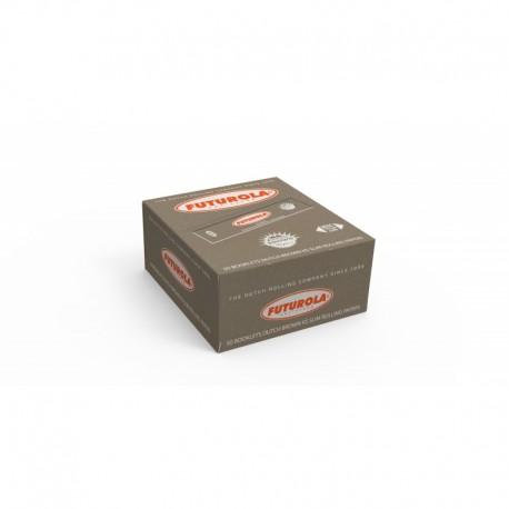 BOX CARTINE FUTUROLA BROWN ARANCIONI 50PZ
