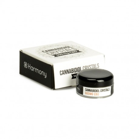 CRISTALLI DI CANNABIS 500mg - CBD PURO 99% - Harmony