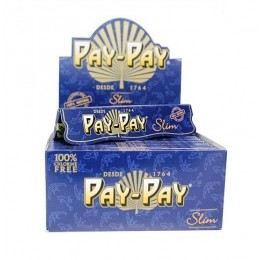 BOX CARTINE PAY PAY SLIM BLUE 50PZ